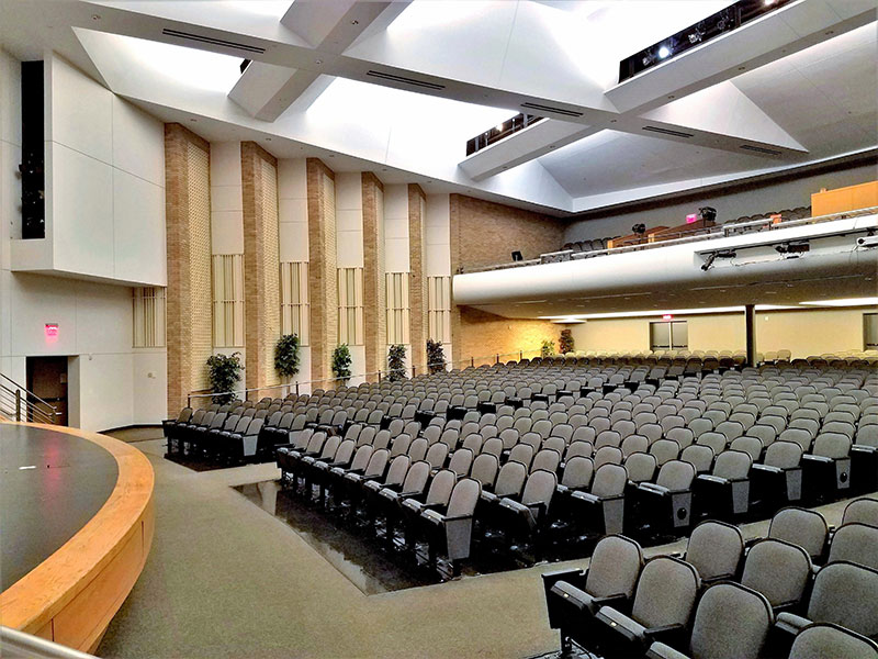 Auditorium Interior Materials Suppliers India