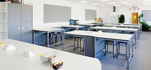 College Lab Interior Designers
