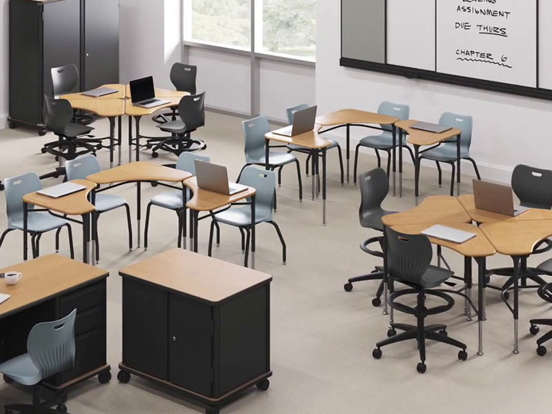 Modern Educational Institute Furnitures Dealers India