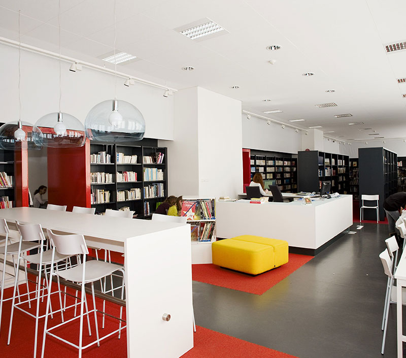 Modern Library Furniture for School