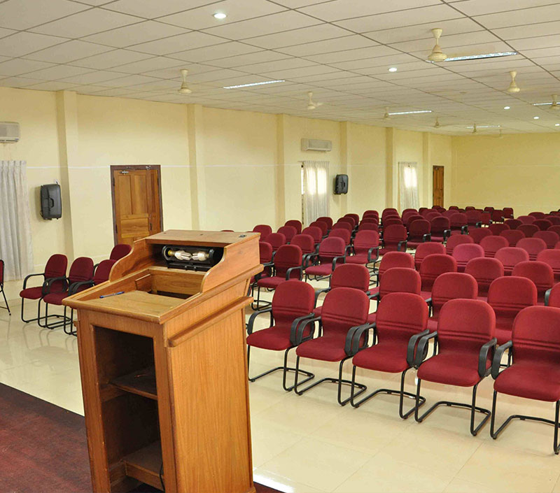 Modern Seminar Hall Furnitures Coimbatore