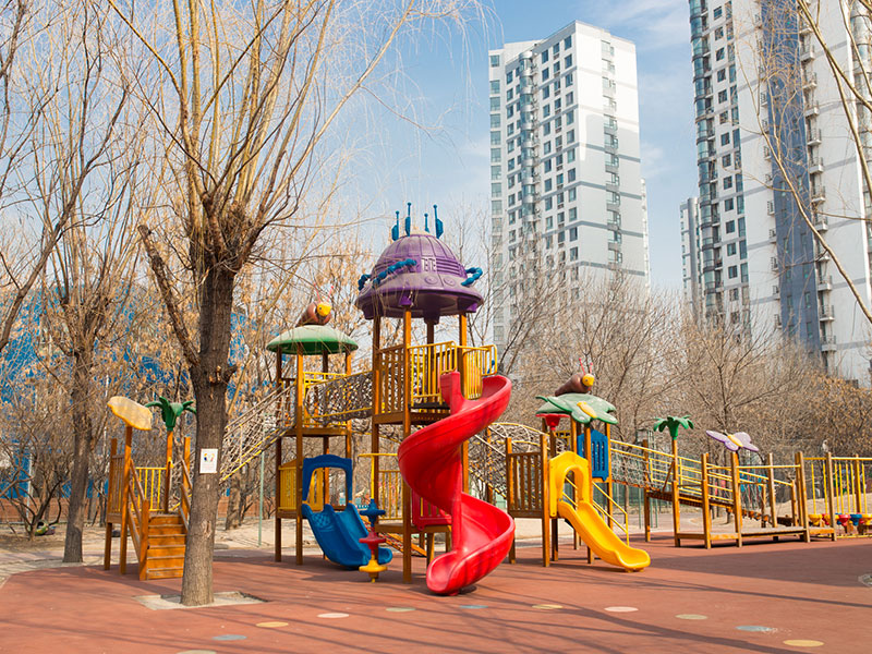 Outdoor Playground Materials Manufacturer India